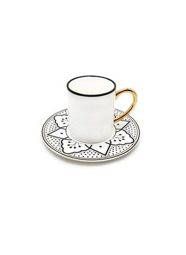 The Mia Maroc Kahve Fincanı Siyah